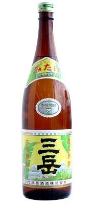 芋焼酎 三岳 25度 1800ml - 三岳酒造