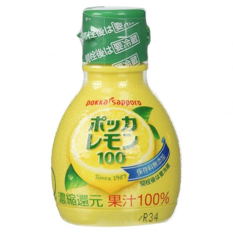 ポッカサッポロ ポッカレモン100 70ml