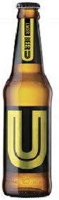 Thailand beer タイ ビール/ユービール(U BEER) 瓶 320ml/24本yu 重量:14kg