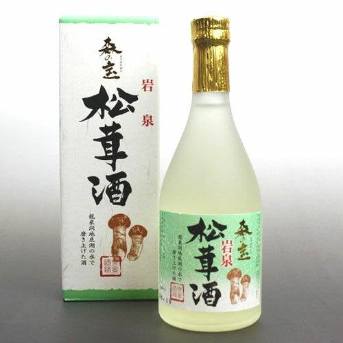 岩泉松茸酒 森の宝 500ml 泉金酒造
