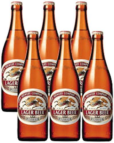 キリンラガービール中瓶(500ml) x 6本