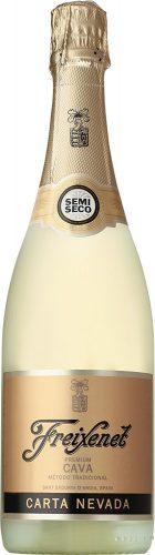 【世界NO.1カヴァ(スペイン産スパークリング)】フレシネ カルタ ネバダ 750ml[スペイン/スパークリングワイン/甘口/ミディアムボディ/1本]