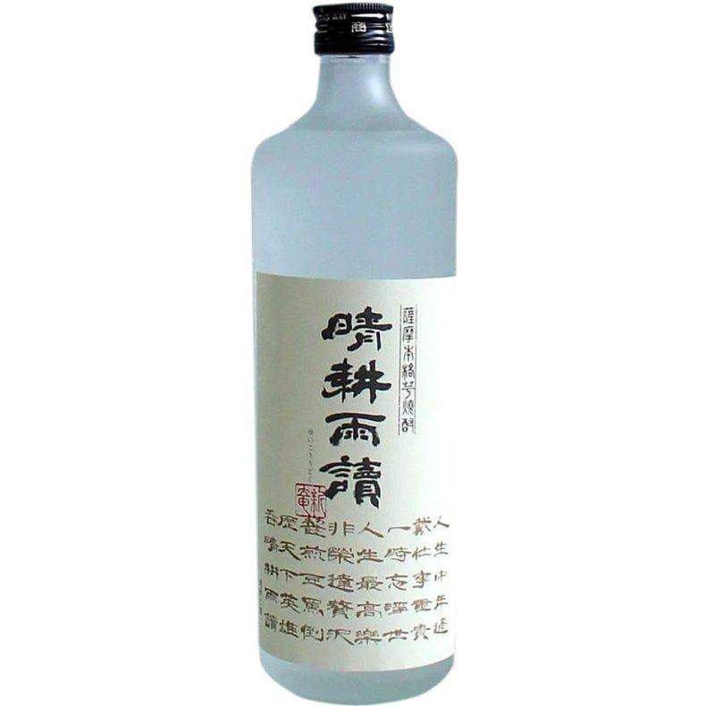 【8】晴耕雨読(芋米焼酎)