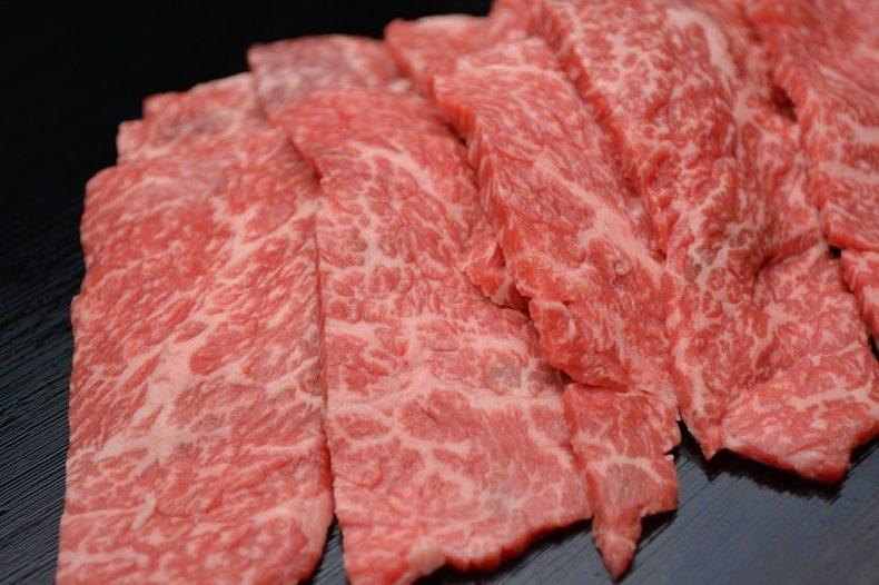 松阪牛 焼肉(肩、モモ、バラ) B (200g)
