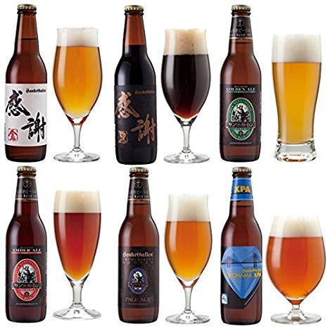 【 クラフトビール6種6本飲み比べセット < 感謝ビール 、 世界一のIPA「YOKOHAMA XPA」入 > 】 専用ロゴ箱入