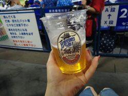 【横浜】夏の風物詩ハマスタでベイスターズオリジナルビールを呑もう♪
