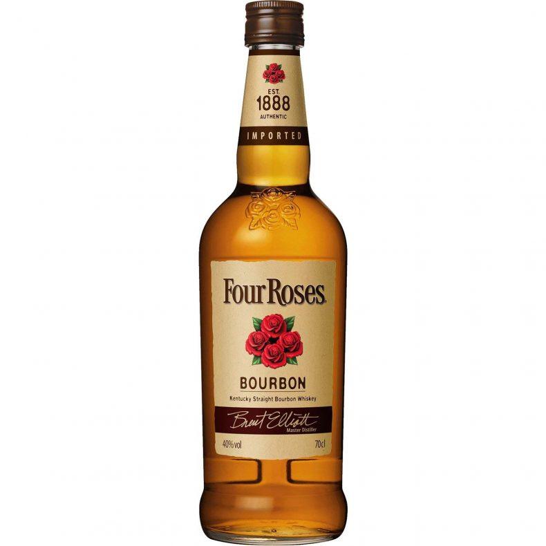 【18位】フォアローゼス(Four Roses) バーボンウイスキー