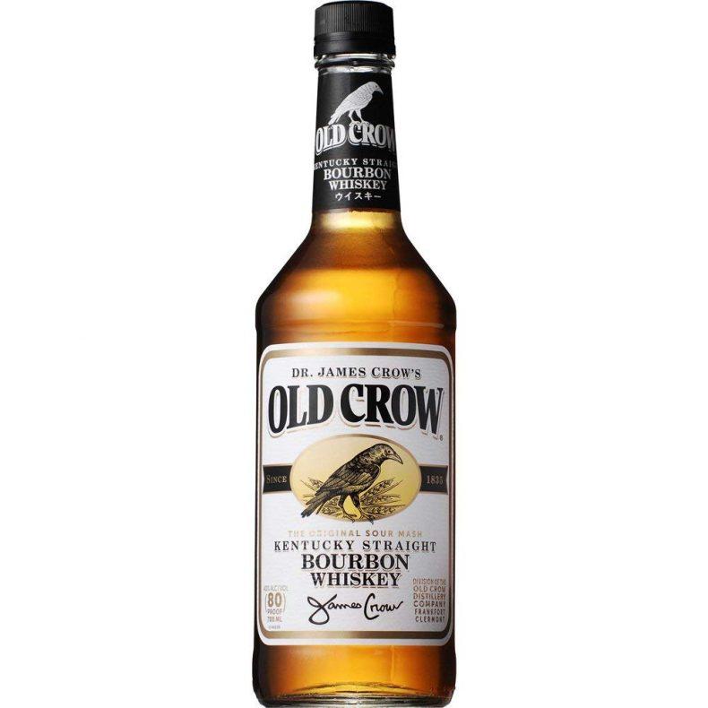 【17位】バーボン ウイスキー オールド クロウ 700ml