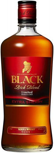 【8位】ブラックニッカ リッチブレンド エクストラシェリー 瓶 700ml