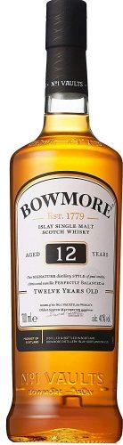 【9位】シングルモルト ウイスキー ボウモア 12年 700ml