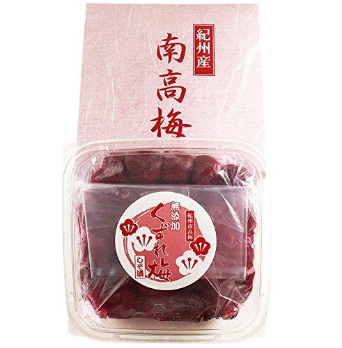 紀州南高梅 くずれ梅 昔ながらの無添加 しそ漬け梅干し 500g(塩分15%)梅・紫蘇・塩のみ使用