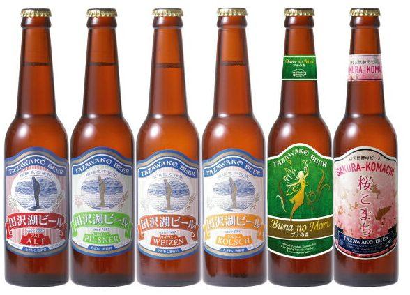 田沢湖ビール6種類飲み比べ6本セット