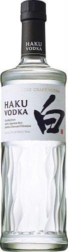 【日本の自然と職人魂から生み出された】ジャパニーズ クラフトウォッカ Haku (白) [ ウォッカ 700ml ]