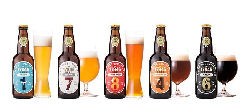 猪苗代地ビール 330ml 5種類 飲み比べ 5本セット