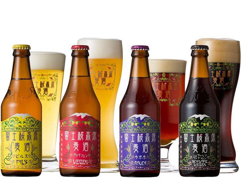 富士山の水を利用して作られる【ふじやまビール】