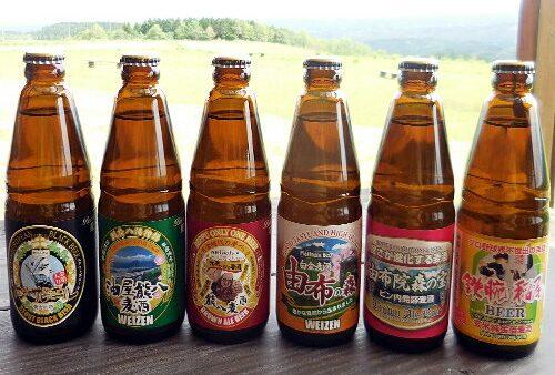 BeerOh! 久住高原地ビールご当地ラベル6種