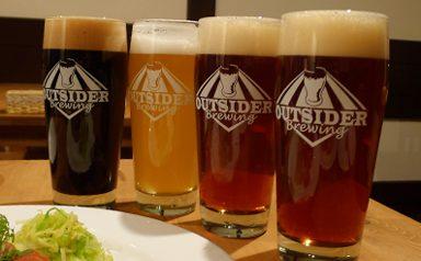 修道院ビールがそろった【OUTSIDER BREWING】