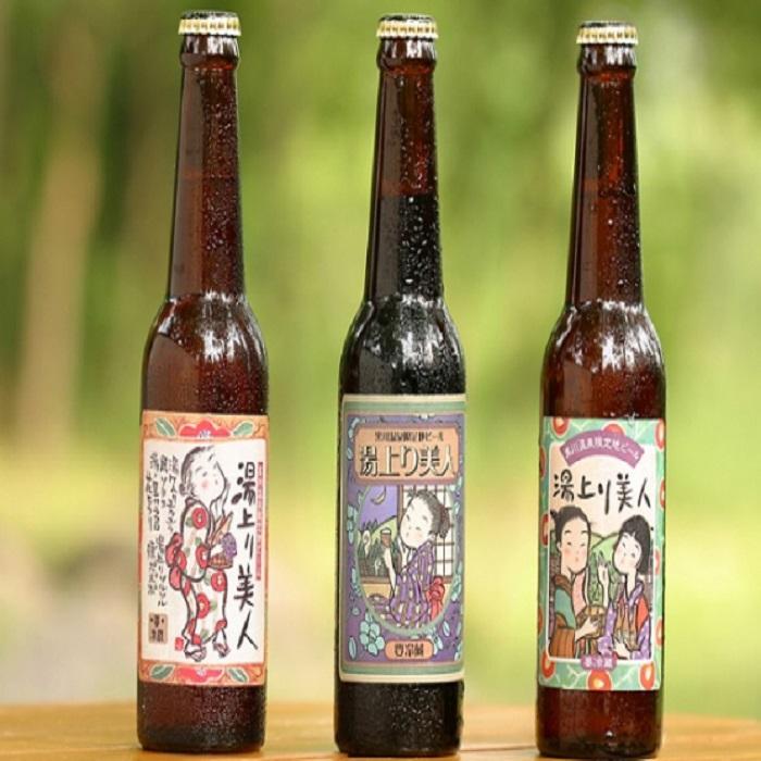 黒川温泉限定の地ビール!湯上り美人