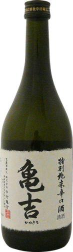 亀吉 特別純米 辛口酒 720ml
