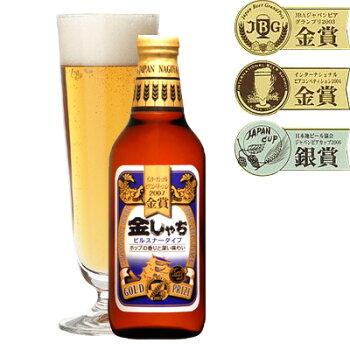 金しゃちビール青ラベル(ピルスナー)330ml(6本入)