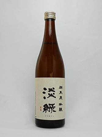 日本酒 群馬泉 吟醸 淡緑 720ml