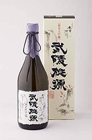 内藤醸造 木曽三川 武陵桃源 日本酒 純米大吟醸 720ml 愛知県