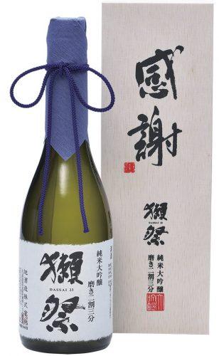 【10位】獺祭(だっさい) 純米大吟醸 磨き二割三分 「感謝」木箱入り 720ml