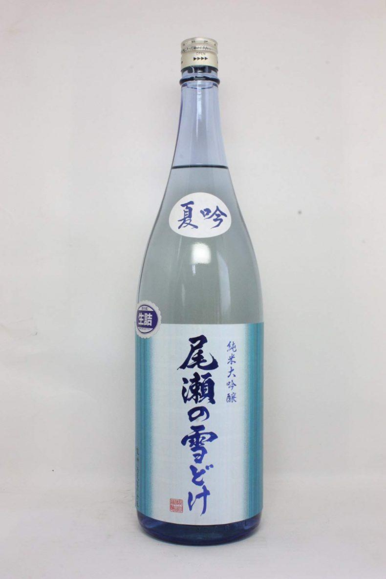 尾瀬の雪どけ【おぜのゆきどけ】 夏吟 純米大吟醸 1800ml
