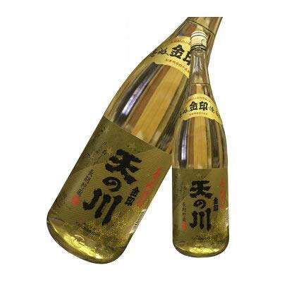 【麦焼酎 壱岐焼酎】 天の川 金印 25度 1800ml -天の川酒造-