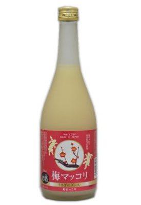 茨城県 吉久保酒造 うさぎのダンス 梅マッコリ 720ml【国産】
