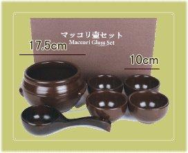 韓国産 マッコリ壺セット