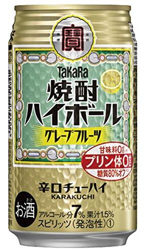 TaKaRa 焼酎ハイボール グレープフルーツ