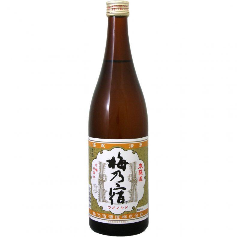 梅乃宿 本醸造 [ 日本酒 奈良県 720ml ]