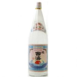 【本格米焼酎】 特撰 旭西海 25度 1800ml  [福田酒造(株)][821]