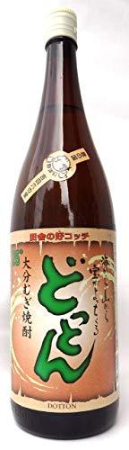 どっとん 25度 麦 1.8L [瓶] [岡永/赤嶺酒造/大分県]