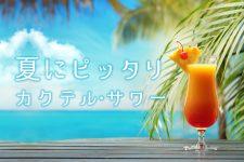 【保存版】夏にピッタリ!さわやかカクテル・サワーのレシピ