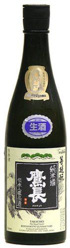 鷹長 菩提もと 純米 生原酒 720ML