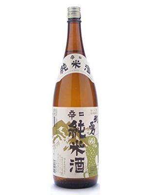 茨城県 武勇(ぶゆう)辛口純米酒 1800ml