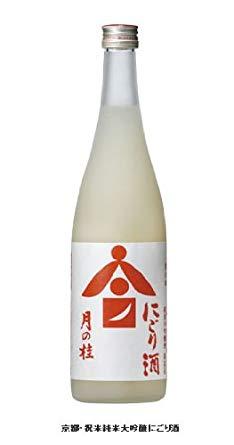 京都 月の桂 祝米純米大吟醸 にごり酒 720ml 17.2度