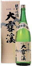 大雪渓 純米吟醸酒 [ 日本酒 長野県 720ml ] [ギフトBox入り]