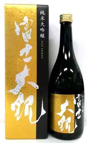 茨城の地酒 富士大観 純米大吟醸 720mL