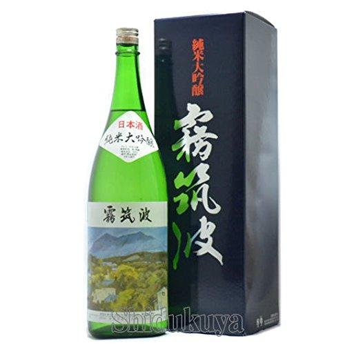 【日本酒】茨城県 浦里酒造店 霧筑波 ( きりつくば ) 純米大吟醸 1800ml
