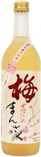 秋田 日の丸醸造 梅まんさく 720ml