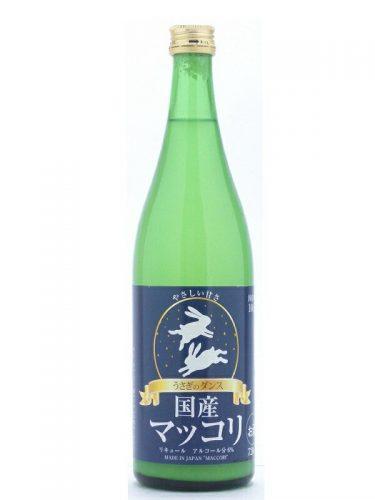 茨城県 吉久保酒造 うさぎのダンス 国産マッコリ 720ml お酒