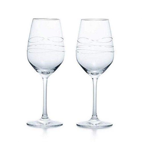 TIFFANY&Co カデンツ ワイン グラス  ペア