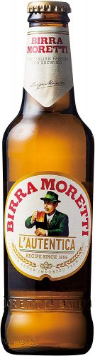 モレッティ ビール 330ml瓶×6本