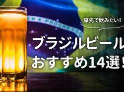 ブラジルビールはお手頃値段で最高!旅先で飲もう♪おすすめ銘柄14選