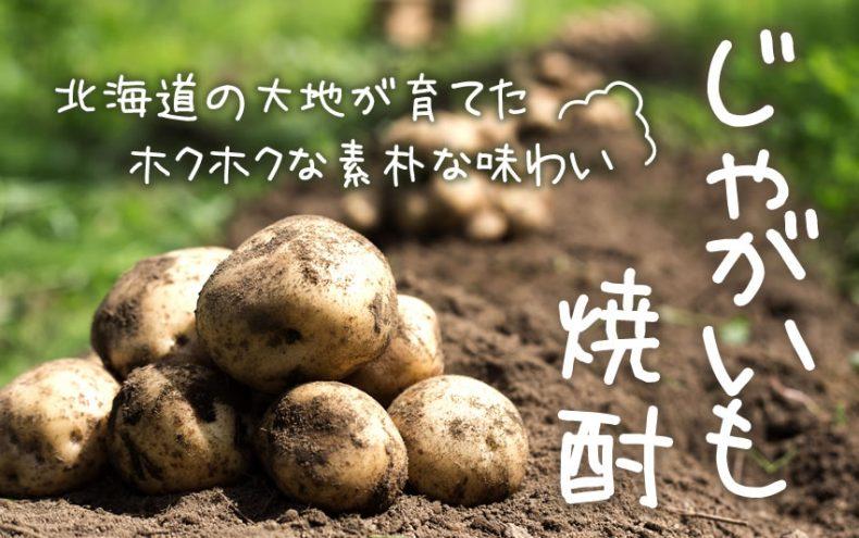 じゃがいもの焼酎!?北海道の大地が育てたホクホクな素朴な味わい