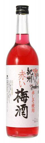 中野 紀州 赤い梅酒12° 720ML 1本